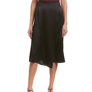 NWT Vince drape panel skirt